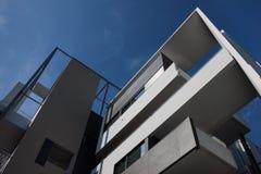 Arkitektoniskt specificera av modern byggnad Fotografering för Bildbyråer