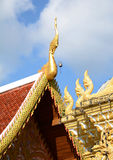 Arkitektoniskt tak för tak Royaltyfri Fotografi