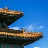 Arkitektoniskt tak för traditionell kines royaltyfri bild