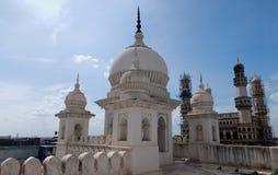Arkitektur av 400 åriga Charminar, Hyderabad, Indien Arkivfoton