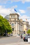 Arkitektur av Berlin, Tyskland Fotografering för Bildbyråer
