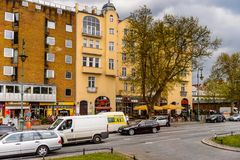 Arkitektur av Berlin, Tyskland Arkivbild