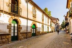 Arkitektur av Braga, Portugal royaltyfri foto