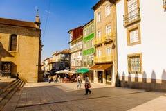 Arkitektur av Braga, Portugal royaltyfri bild