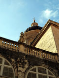 Arkitektur av den gamla staden av Dubrovnik Royaltyfri Bild