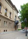 Arkitektur av den gammala townen av Riga Arkivfoton
