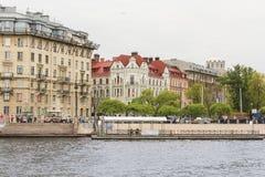 Arkitektur av den Petrograd sidan Royaltyfria Foton