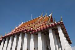 Arkitektur av den thailändska templet Royaltyfri Foto