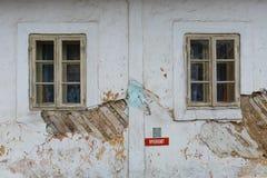Arkitektur av den Turiec regionen, Slovakien arkivbilder