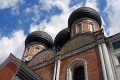 Arkitektur av det Izmailovo säterit i Moskva domkyrkaintercessionmoscow röd russia fyrkant Royaltyfri Bild