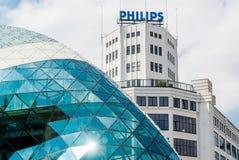 Arkitektur av Eindhoven Arkivfoton