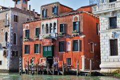 Arkitektur av Grand Canal, Venedig Arkivfoton