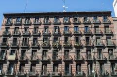 Arkitektur av Madrid royaltyfri bild