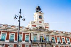 Arkitektur av Madrid, huvudstaden av Spanien Arkivfoto