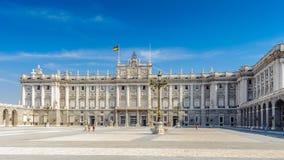 Arkitektur av Madrid, huvudstaden av Spanien Arkivfoton