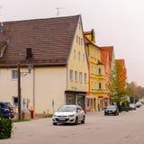 Arkitektur av Memmingen Royaltyfri Bild