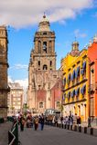 Arkitektur av Mexico DF Royaltyfria Bilder