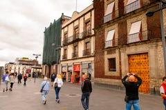 Arkitektur av Mexico DF Royaltyfri Fotografi