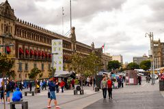 Arkitektur av Mexico DF Arkivfoto