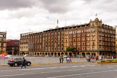 Arkitektur av Mexico DF Arkivbild