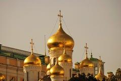 Arkitektur av MoskvaKreml 19th för domkyrkaårhundrade för annunciation 17 kharkov för stad landmark ukraine Arkivbilder