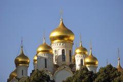 Arkitektur av MoskvaKreml 19th för domkyrkaårhundrade för annunciation 17 kharkov för stad landmark ukraine Arkivfoto