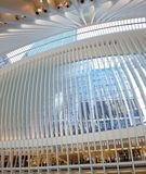 Arkitektur av Oculus, New York City, NY royaltyfria bilder