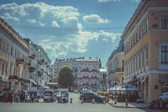 Arkitektur av Odessa Arkivfoton