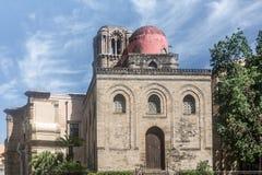Arkitektur av Palermo, Italien Arkivfoto