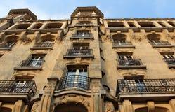Arkitektur av Paris Arkivfoton