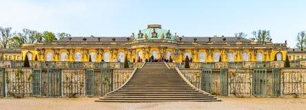 Arkitektur av Potsdam, Tyskland arkivbilder