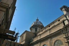 Arkitektur av Rome, Italien Royaltyfria Bilder