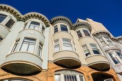 Arkitektur av San Francisco, Kalifornien Arkivfoton
