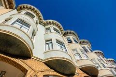 Arkitektur av San Francisco, Kalifornien Fotografering för Bildbyråer