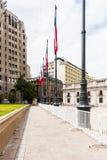 Arkitektur av Santiago de Chile Fotografering för Bildbyråer