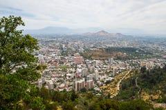 Arkitektur av Santiago de Chile Arkivbilder