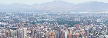 Arkitektur av Santiago de Chile Arkivfoton