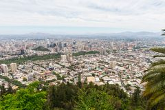 Arkitektur av Santiago de Chile Royaltyfri Foto