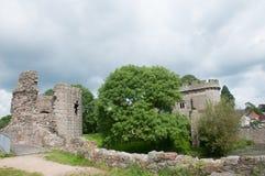 Arkitektur av slotten Arkivfoton