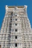 Arkitektur av Sri Govinda Raja Swamy Temple, Tirupati, Indien arkivfoton