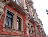 Arkitektur av St Petersburg Arkivfoton