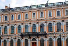 Arkitektur av St Petersburg Arkivbilder