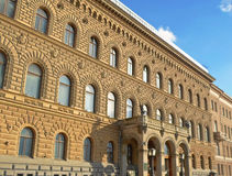 Arkitektur av St Petersburg Arkivfoto