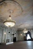 Arkitektur av St Petersburg, Ryssland Inre av det Palma gallerit Arkivbilder
