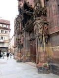 Arkitektur av Strasbourg Arkivfoto