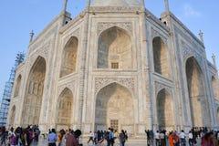 Arkitektur av Taj Mahal Agra, Indien Arkivfoton