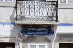 Arkitektur av Tavira, Portugal Arkivfoton