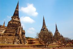 Arkitektur av thailand Arkivbild