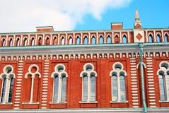 Arkitektur av Tsaritsyno parkerar i Moskva Fotografering för Bildbyråer