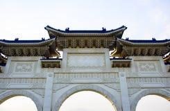 Arkitektur av valvgången av CKS Chiang Kai Shek Memorial Hall royaltyfri fotografi